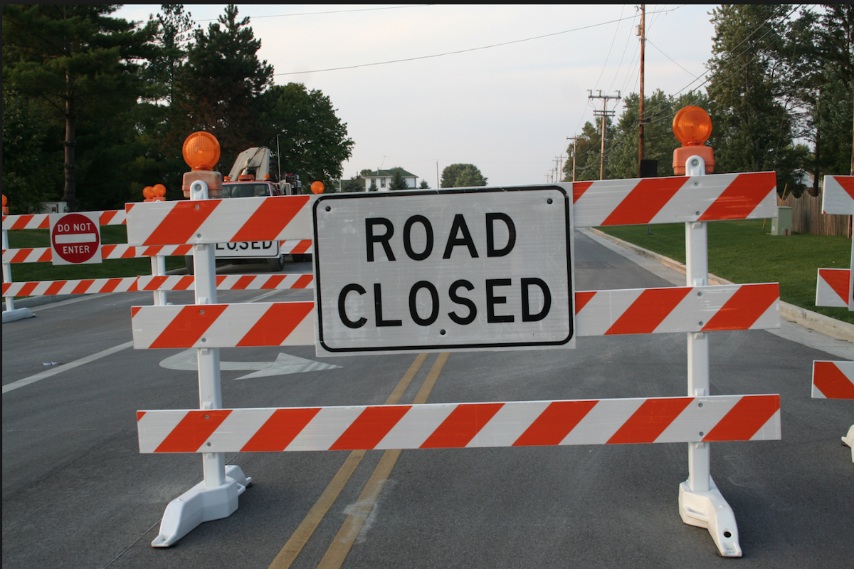Update: Short-Term Road Closures Of Old Indian Head Road, Tower Road And Small Section Of Brandywine Road