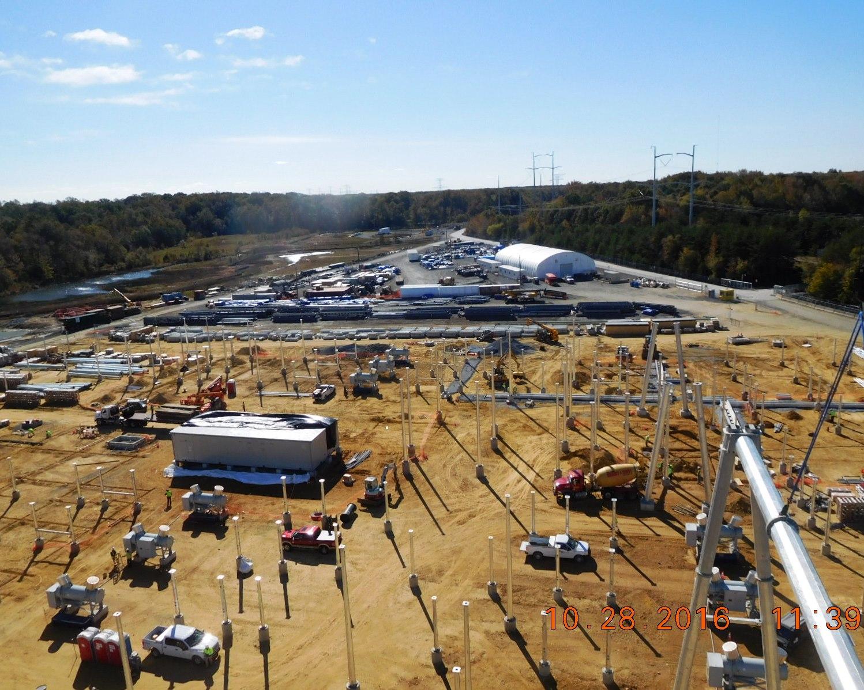 SNC-Lavalin Construction Progress Pictures Of The PSEG Keys Energy Center LLC  (10/28/16)