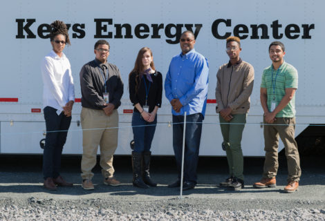 PGC Council Chair Derrick Davis Visits Students At The PSEG Energy Career Program