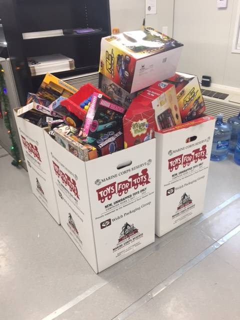 PSEG Keys Energy Center And SNC-Lavalin Participate In Marine Corps Reserve's Toys for Tots Program, Prince George's County Chapter