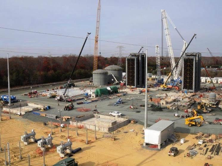 SNC-Lavalin Construction Progress Pictures Of The PSEG Keys Energy Center LLC (11/28/16)