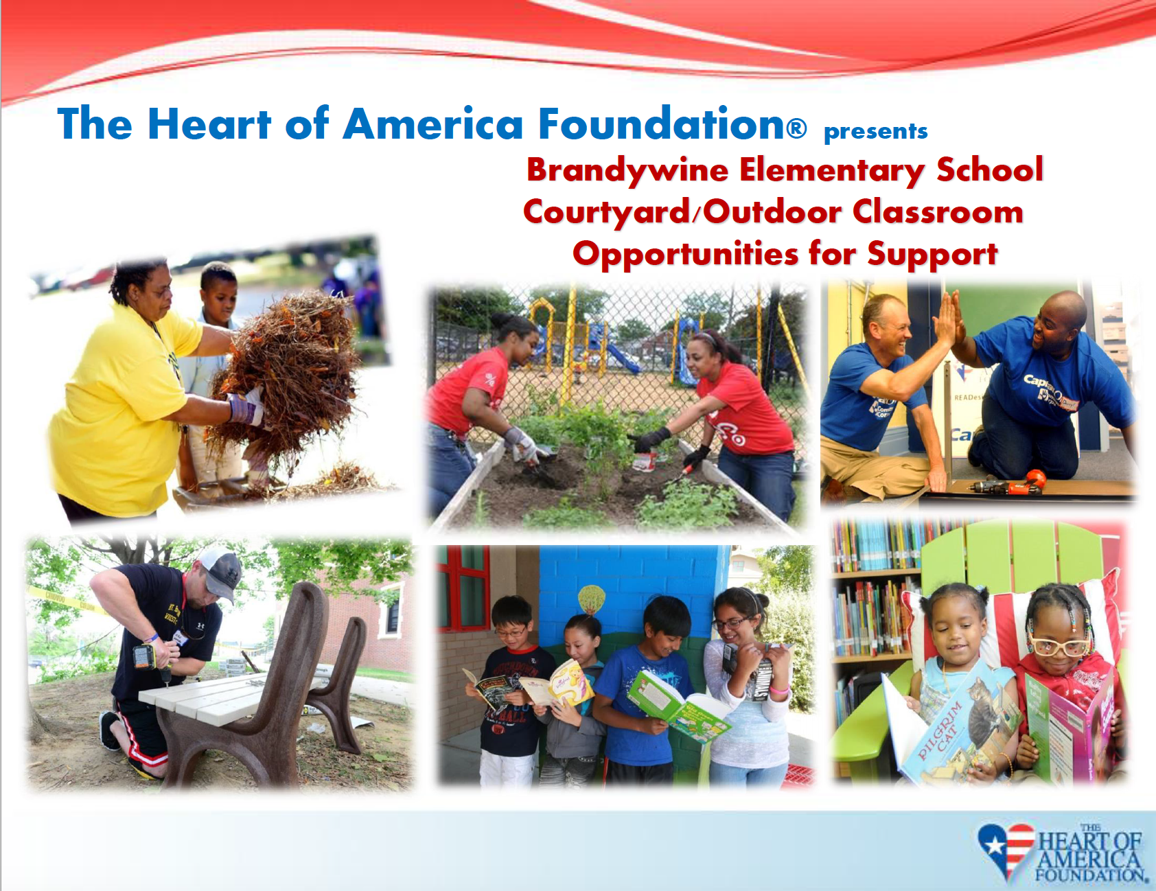 PSEG & SNC-Lavalin Partner With Heart Of America For Brandywine Elementary Outdoor Classroom Project