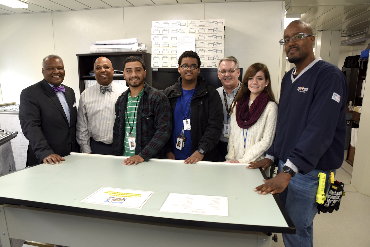 Prince George's County Executive Rushern Baker Meets With Students From The PSEG Keys Energy Program