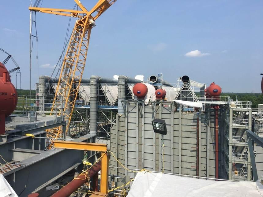 SNC-Lavalin Construction Progress Pictures Of The PSEG Keys Energy Center LLC (7/15/17)