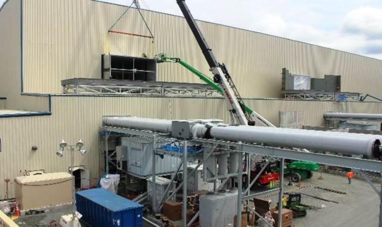 SNC-Lavalin Construction Progress Pictures Of The PSEG Keys Energy Center LLC (8/18/17)