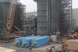 SNC-Lavalin Construction Progress Pictures Of The PSEG Keys Energy Center LLC (10/16/17)